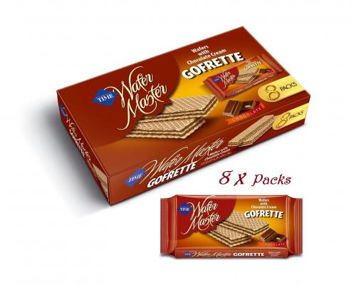 Gofrete Chocolate 40g*8=320g