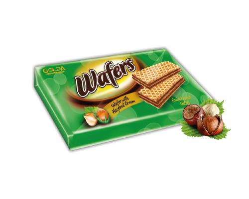 Golda wafers Hazelnut 175g