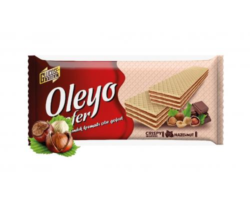 Oleyo wafers Hazelnut 150g
