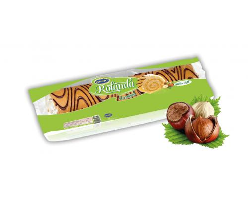 ROLANDA swiss roll Hazelnut 300g