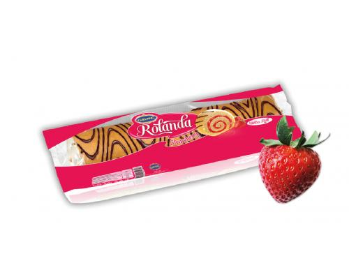 ROLANDA swiss roll Strawberry 300g