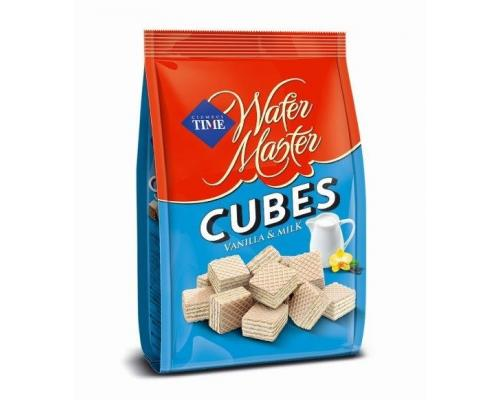 Wafer Cubes Milk & Vanilla 250g